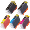 Canon PGi-5-Cli-8 Black & color 5-pack replacement