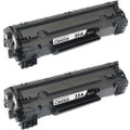 HP 35A - CB435A Black 2-pack replacement
