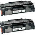 HP 05X - CE505X Black 2-pack replacement