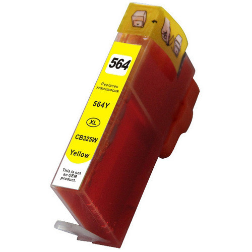 Remanufactured Replacement For Hp 564xl Ink Cartridge Yellow High Yield Cb325wn