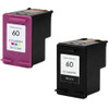 HP 60 Black and Color 2-pack