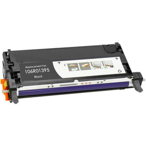 black toner cartridge replacement for Xerox 106R01395