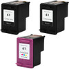 HP 61 Black & Color 3-Pack replacement