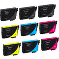 Epson T200XL Black & Color Set 9-pack replacement