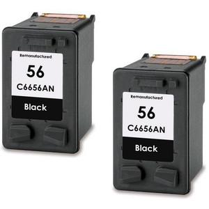 HP 56 - C6656AN Black 2-pack replacement
