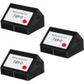 Pitney-Bowes 769-0 fluorescent red ink cartridge - 3 Pack