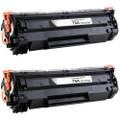 HP 78 (CE278A) Toner Cartridge - 2-Pack