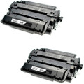 HP 55X - CE255X  2-pack replacement