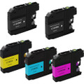 5 Pack - Compatible ink cartridge replacement set for Brother LC203