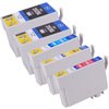 5 Pack - Remanufactured Epson 252XL Ink Cartridge Set, High Yield, Package Includes 2 Black, 1 Cyan, 1 Magenta and 1 Yellow Ink Cartridge