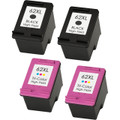 HP 62XL Ink Cartridge High Yield Combo Pack