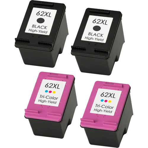 hp 62xl ink cartridge combo high yield 4 pack. Black Bedroom Furniture Sets. Home Design Ideas