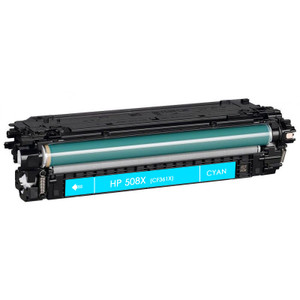 HP 508X (CF361X) Toner Cartridge Cyan