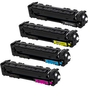 HP 201X Toner Cartridge High Yield Combo Pack