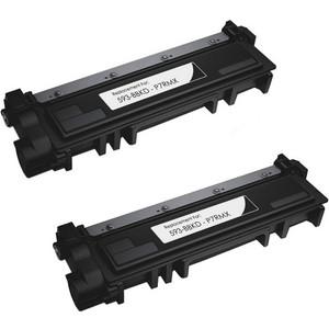 Dell 593-BBKD (P7RMX) black toner cartridge - 2 pack