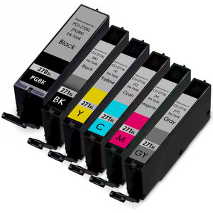 PGi-270XL and Cli-271XL Ink Cartridge Set 6-Pack