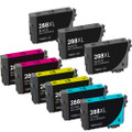 Epson T288XL Ink Cartridge Set, High Yield, 9 pack