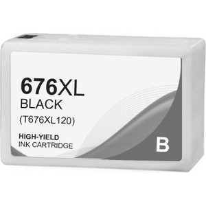 Epson 676XL Ink Cartridge, Black, High Yield