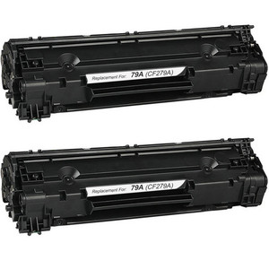 HP 79A Toner Cartridge, 2 Pack CF279A