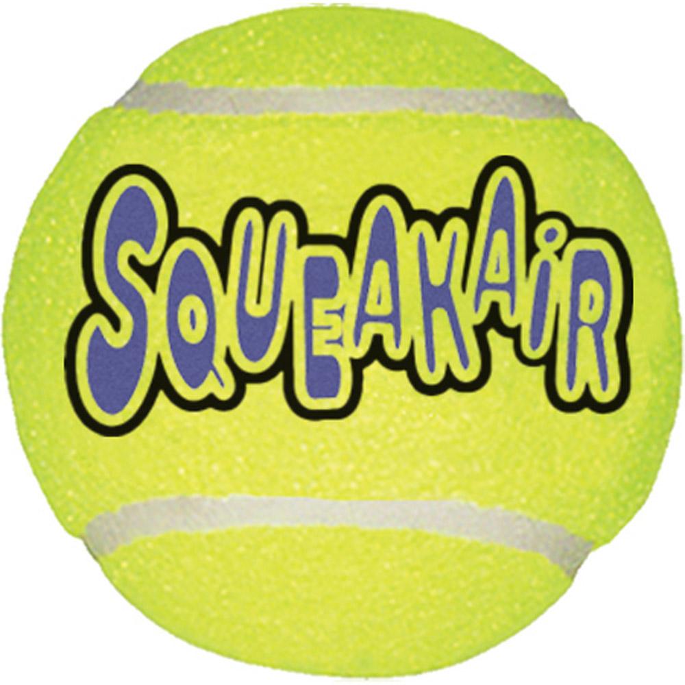 Air Kong Squeaker Medium Tennis Ball