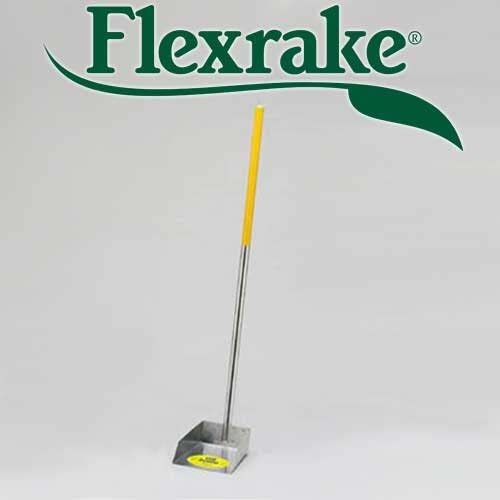 Flexrake Pick Up Pan Individual Pan Only Small Yellow 5a