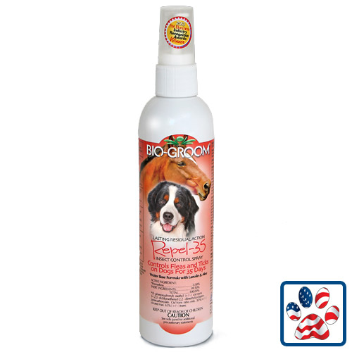 Bio Groom Repel 35 Insect Control Spray 16oz