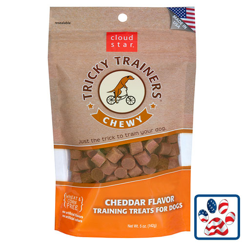 Cloudstar Chewy Tricky Trainers Cheddar Flavor 5oz