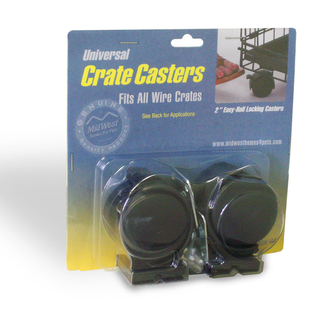 Midwest Universal Crate Casters 2 Pack