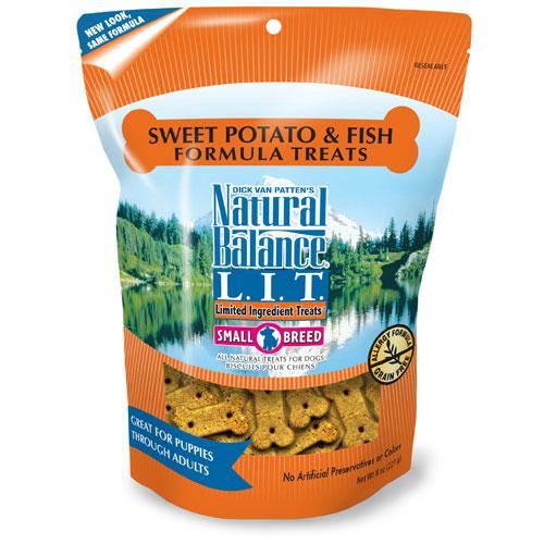 Natural Balance Sweet Potato And Fish Small Breed Treats 8oz