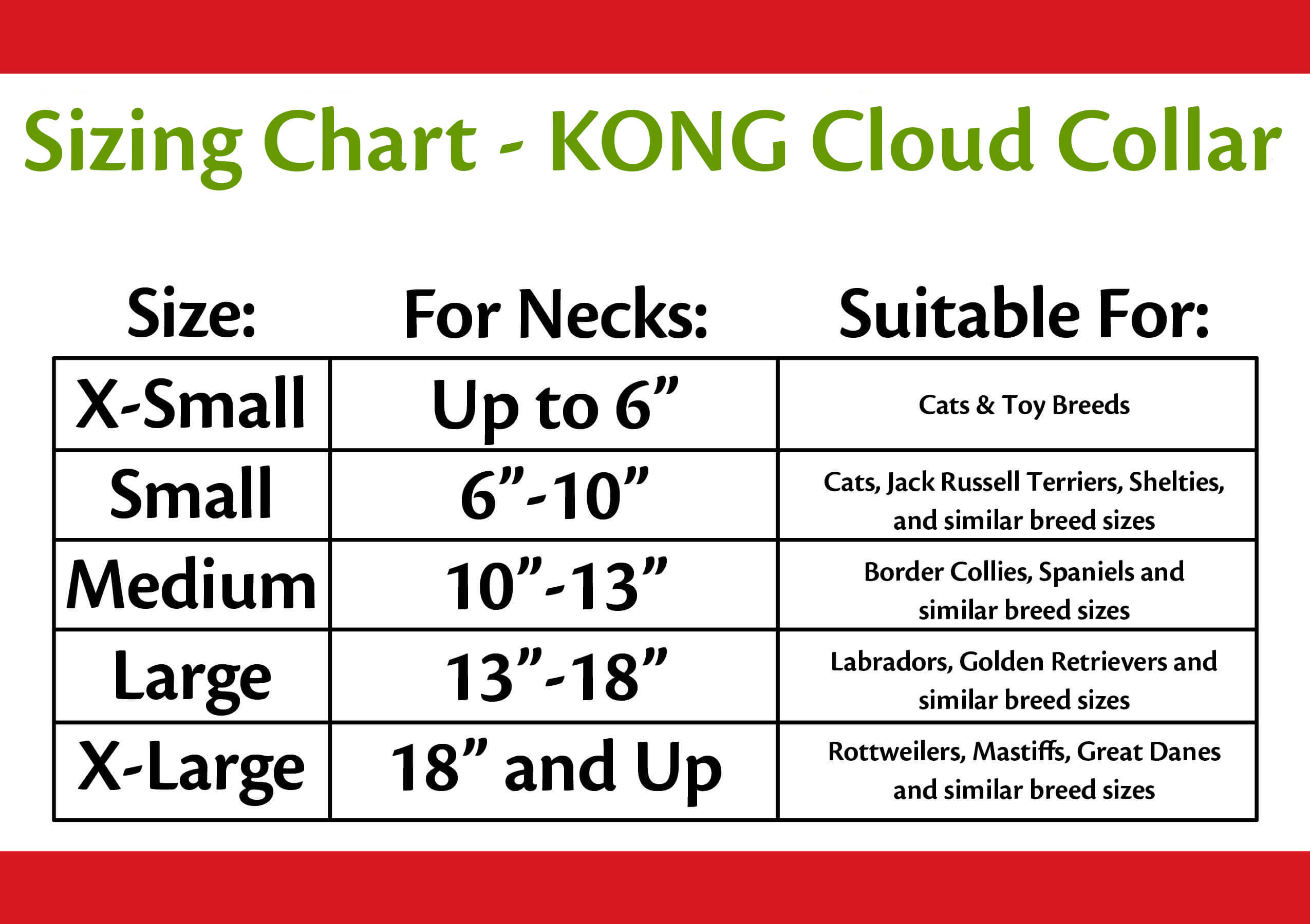 Kong cloud collar click here to find the perfect size nvjuhfo Images