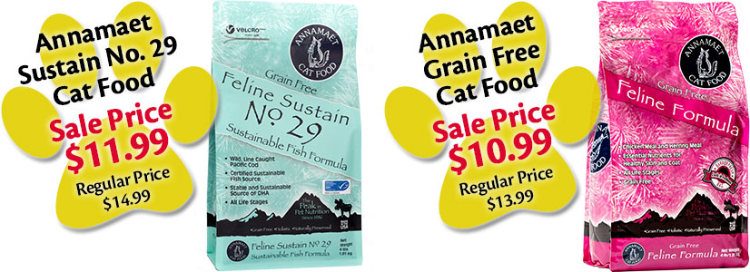 Annamaet Cat Food Promotions