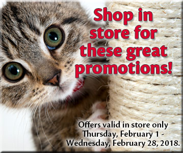 Shop in store for these great promotions!