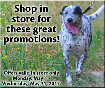 Shop in store for this great promotion!