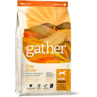 Gather Free Acres Organic Free-Run Chicken Recipe for Adult Dogs