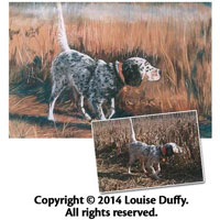 Louise Duffy Commissioned Pet Portrait in Pastel