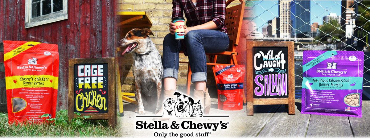 Stella and Chewys Banner