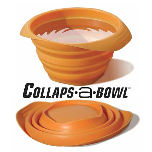 Kurgo Collaps A Bowl Orange