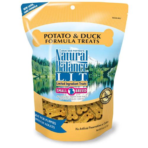 Natural Balance Duck And Potato Small Breed Dog Treat 8oz