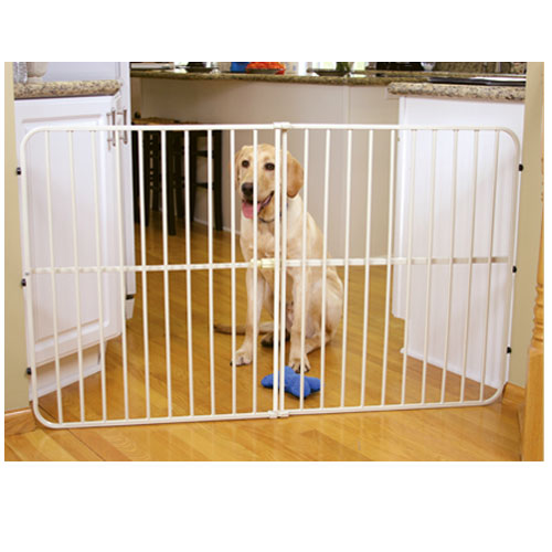 Big Tuffy Expandable Pet Gate