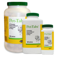 Pet-Tabs Multivitamin Tablets for Dogs