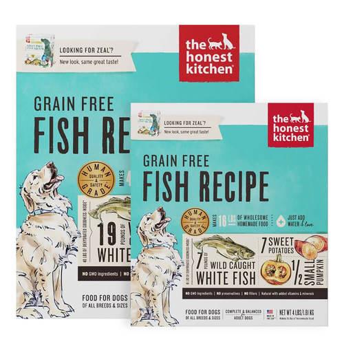 Honest Kitchen ZEAL Grain Free Fish Dog Food
