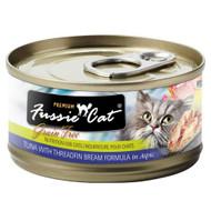 Fussie Cat Premium Tuna with Threadfin Beam in Aspic