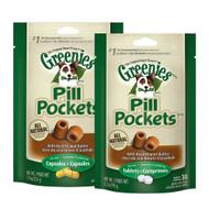 Greenies Pill Pockets Peanut Butter Flavor