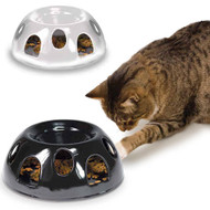Tiger Diner Ceramic Feeding Cat Dish