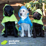 RC Pet Packable Rain Poncho