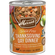 Merrick's Classic Grain Free Thanksgiving Day Dinner 12.7oz