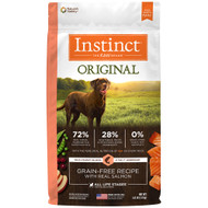 Natures Variety Instinct ORIGINAL Grain-Free Salmon Kibble for Dogs
