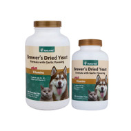 Naturvet Brewers Yeast Chewables Plus Vitamins and Garlic