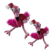 Lulubelles Power Plush Santa Flo Rida Dog Toy