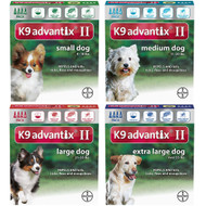 K9 Advantix II - 4 month supply